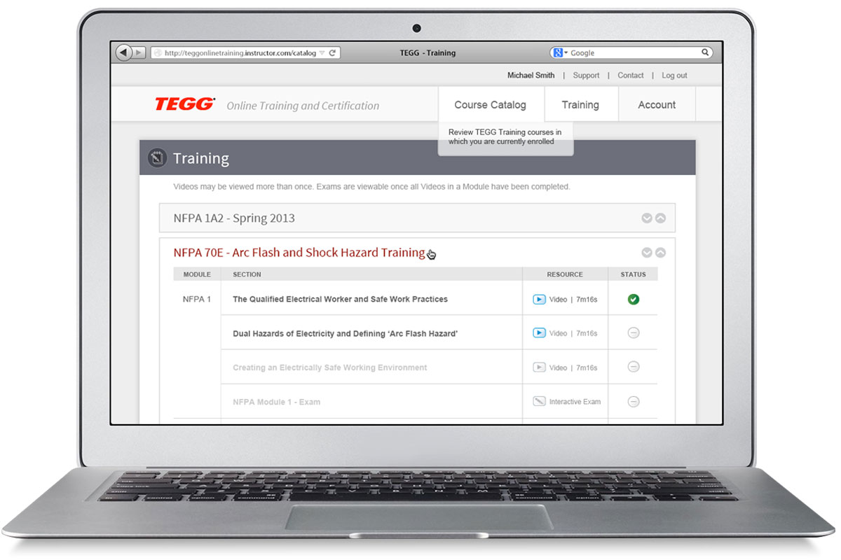 TEGG Online Training
